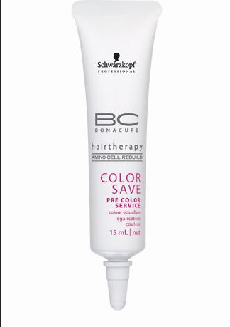 施华蔻保丽护色染前护理发色均衡精华乳 修复发丝内部空洞
