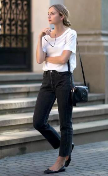 女生夏季九分裤穿搭技巧~学会这样穿照样可以美丽动人!
