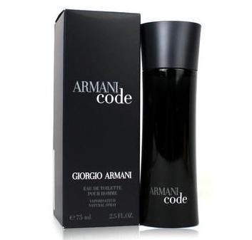乔治·阿玛尼 黑色密码香水