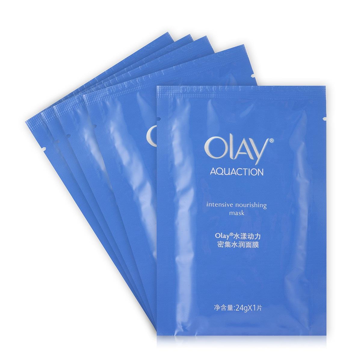 OLAY水漾动力密集水润面膜 密集修护,补充肌肤所需营养