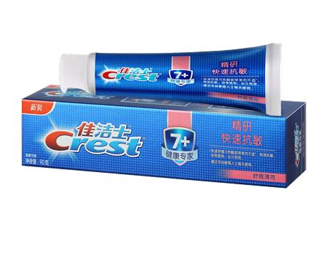 佳洁士健康专家精研快速抗敏牙膏 快速舒缓冷热酸甜带来的不适